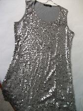 Orig. Betty Barclay - hochw.tailliertes Long Shirt m. Pailetten Gr. 38 NEU