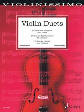 Violin Duets 30 Duets from 4 Centuries String Solo Book New Schott 049045886