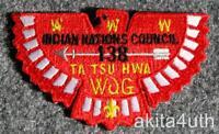 "2002 NOAC Lodge 138 Ta Tsu Hwa ""Mini Bird"" (X8) OA/BSA"