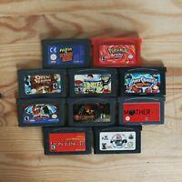 GameBoy Advance - 10 GameBoy Spiele zum TOP Preis! - GBA 367 REPRO Modul