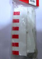 Medio borde exterior curva super exterior 6 unidades blanco y rojo Ninco 1/32