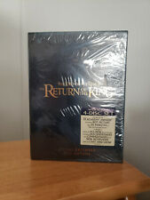 New ListingThe Lord of the Rings: The Return of King Special Extended 4 dvd edition new