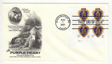 SSS:  ArtCraft  FDC  2007  41c  Purple Heart      PB4     Sc #4164