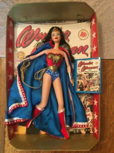 Barbie Doll as Wonder Woman Collector Edition 24638 DC Comics Mattel 1999