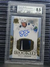 2017-18 The Cup Brock Boeser Rookie Patch Autograph Auto #2/12 BGS 8.5/10 F66