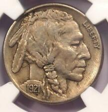1921-S Buffalo Nickel 5C Coin (Mint Error) - Certified NGC XF45 - $990 Value!