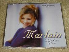 Eurovision song contest 1999 Cyprus Marlain Tha'ne Erotas In the name of love CD