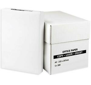 Multipurpose White Paper A4 80gsm Office Laser Printer Copy Sheets Reams Box Lot
