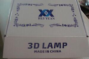 😍STAR TREK ENTERPRISE 3D LED 6 Colour Night Light Touch Table Lamp Hui Yan TOS