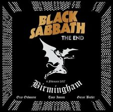 End - 2 DISC SET - Black Sabbath (2017, CD NEUF) Explicit Version