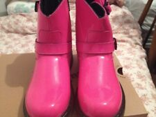 Dr. Martens Patent Biker Boots size 3 PINK classy boots for a classy lady