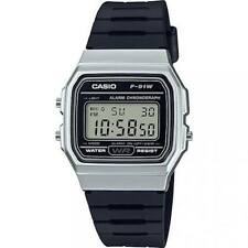 Casio Watch F-91WM-7AEF ALARM LCD Chronograph Alarm Gift Men Girl Boy