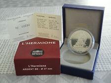 10 euro BE France 2012 argent - L'HERMIONE RARE  !!!!