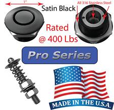 Pro Series 1 Satin Quick Release Push Button Hood Pin Lock Clip Bumper Latch Ql