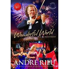 Andre Rieu Wonderful World Live in Maastricht DVD R4 BRAND