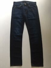 "Womens Armani Exchange Bootcut Jeans, Dark Blue, Size 29"""