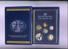 "1998 Royal Australian Mint Proof Set: ""Bass and Flinders."""