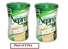 2 X Abbott Nepro HP 400gm Vanilla Powder High Nutrition Energy Feed Carb Steady
