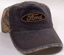 Hat Cap Ford Oval Camo Black OC