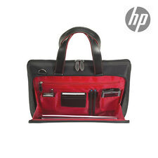 HP Ladies Signature Slim Laptop & Accessories Bag / BLACK & RED - EZ142AA