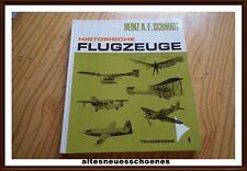 Historische Flugzeuge EA  Transpress DDR H.A.F.SCHMIDT