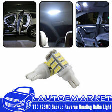 2Pcs Cool White 42SMD RV Camper Trailer Backup Reverse LED Lights T10/921/194
