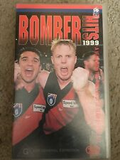 AFL Football Essendon Bomber Hits 1999 VHS TAPE * * rare * *