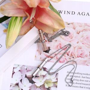 Together Forever Cylindrical Urn Necklace-