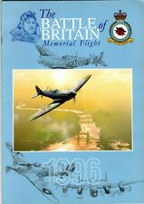 Battle of Britain Memorial Flight Brochure 1996 Spitfire,Hurricane,Lancaster,C47