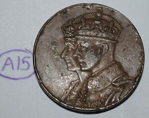 Canada 1939 Royal Visit Medal - Token Lot #A15