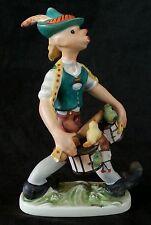 Rare 1958 Goebel Hahn Germany porcelain figurine, 6.5 inches