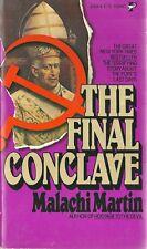 The Final Conclave Malachi Martin 1978 Vintage Paperback Near Fine