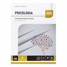 9788839303059 Il manuale di scienze umane. Psicologia. Con e-boo...ole superiori