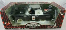 GearBox 1956 Ford Thunderbird Fire Chief Chain Driven Pedal Car Black In Box (R