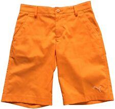 Puma Golf Youth Boys Orange Short (Size M)