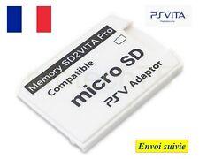 Adaptateur SD2 Vita pro Carte Mémoire Micro SD Playstation Vita PSV Memory Cards