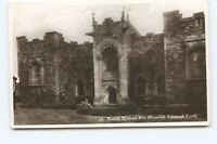Postcard 16 Scottish National War Memorial Edinburgh Castle RPPC Posted 1918 GU