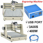 USB 3AXIS CNC 3040 Router Engraver 400W 3D Wood Cutter Milling Machine + Remote