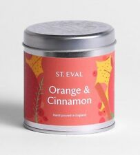 "St Eval ""Orange & Cinnamon"" Scented Candle in a Christmas Tin"