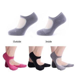 Women Girl's Yoga Socks Barre Socks Pilates Socks Non Slip Skid With Grips