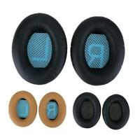 1 Pair Replacement Ear Pads Cups Cushion for Bose QuietComfort QC35 Headphones