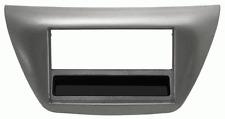 Mascherina con foro ISO/Doppio DIN colore grigio metall. Lancer-Evo 07>08