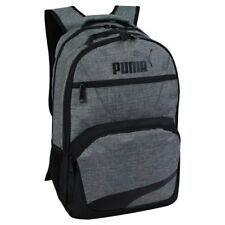 "BACKPACK / PUMA SQUAD XL / HEATHER GRAY 19"" W LAPTOP SLEEVE / SPORT SCHOOL NWT!"