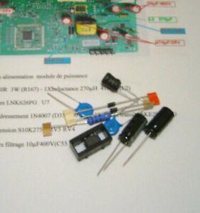1 Kit  Réparation Carte LNK626PG  seche linge  HOTPOINT ARISTON