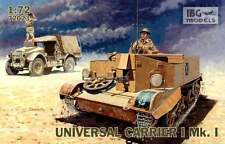 UNIVERSAL CARRIER I Mk I (BRITISH, CANADIAN, POLISH, NEW ZEALAND MKGS) 1/72 IBG