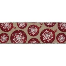 Cinta a cuadros rústico de navidad 25mm y 40mm de ancho se vende por metro Berisfords