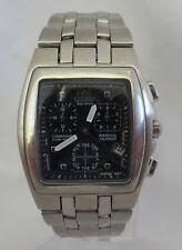 Rare Citizen Mens BL5140-51L Eco Drive Largo Perpetual Calendar Steel Watch