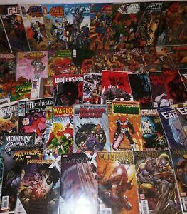 50 Wolverine Weapon X Image Marvel Comic Book Lot  Wolf Moon Punisher Origins 1
