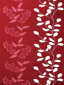 Bedsheet Red Floral Print cotton double Bed with 2 pillow covers