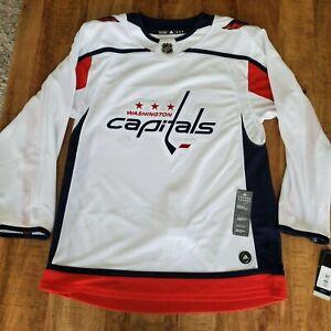 Adidas Washington Capitals Authentic Away Jersey 252JA Size 46